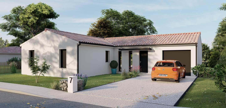 Photo 1 : Terrain constructible à Artigues-de-Lussac (les) (33570)
